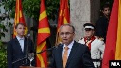 Министер за одбрана, Зоран Јолевски.