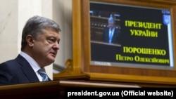 Ukrainian President Petro Poroshenko (file photo)