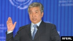 Imangali Tasmaghambetov, 60, has been considered a possible successor to 76-year-old Kazakh President Nursultan Nazarbaev (file photo)