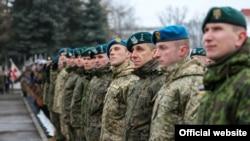 Початок роботи бригади під назвою «ЛитПолУкрбриг». Люблін, 25 січня 2016 року