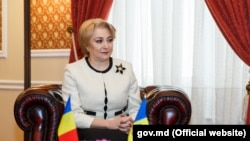 Viorica Dancilă la Chișinău