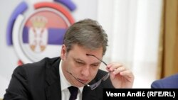 Presednik Srbije Aleksandar Vučić