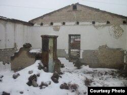 «Малая тюрьма» в Туркестане. Так она выглядит изнутри. Фото предоставлено Кайратом Мусабаевым.