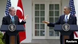 ABŞ prezidenti Barack Obama və baş nazir R.T. Erdogan (2013)