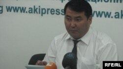 Оппозициялық саясаткер Нұрлан Мутуев. Бішкек, 29 маусым 2009 жыл.