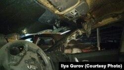 Сожженная машина Ильи Гурова