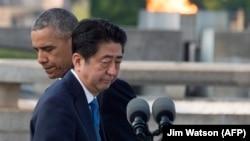 شینزو آبه و باراک اوباما