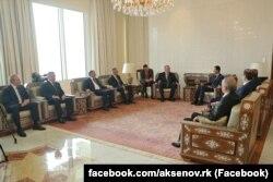 Встреча Аксенова и Асада
