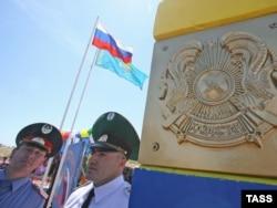 На казахстанско-российской границе. Иллюстративное фото.