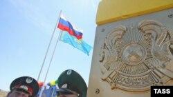 Қазақстан мен Ресей шекарасы. Астрахан облысы, мамыр, 2009 жыл.