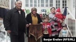 Фарход жана Жахонгирдир ата-энеси, бир туугандары
