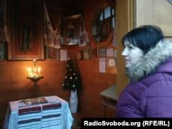 Валентина Бучок после освобождения из плена
