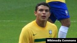 Thiago Silva Braziliya yığmasının heyətində, mart 2011