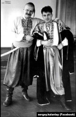 Комедійний дует «Лис Микита» (праворуч Анатолій Гнатюк)