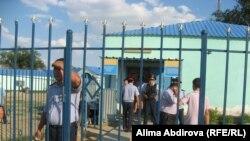 Кенкиякское поселковое отделение полиции. Поселок Кенкияк Темирского района Актюбинской области. 1 июля 2011 года.