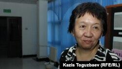Дина Игсатова, автор и составитель сборника «Право на добрую память. Возвращенные имена казахстанцев Второй мировой». Алматы, 24 октября 2017 года.
