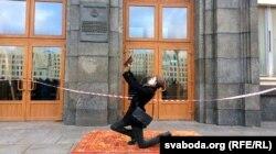 Акцыя пратэсту студэнтаў супраць платных пераздач у Беларускім дзяржаўным унівэрсытэце, 2 сьнежня 2015