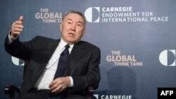 Қазақстан президенті Нұрсұлтан Назарбаев. Вашингтон, 31 наурыз 2016 жыл.