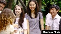 Казахстанские студенты Ухтинского государственного технического университета.