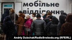 КПВВ Станиця Луганська 4.01.2019