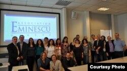 """Membri ai Asociației Universitare """"Mihai Eminescu"""" de la Geneva"""