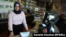 Несибе Килидж, студентка турецкого происхождения, живущая в Патерсоне, Нью-Джерси.
