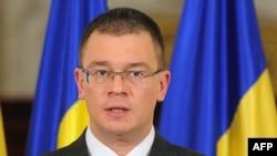 Romania's new Prime Minister-designate Mihai Razvan Ungureanu