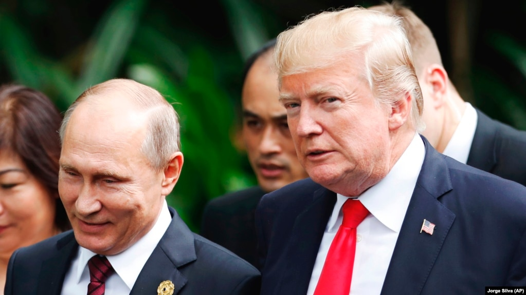 Image result for trump and putin