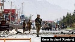 آرشیف/ یک حملات موتر بمب در شهر کابل