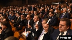 Armenia - The ruling Republican Party of Armenia holds a congress in Yerevan, 26Nov2016.