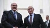 Orsýetiň prezidenti Wladimir Putin Moskwada belarus kärdeşi Aleksandr Lukaşenka bilen duşuşdy. 25-nji dekabr, 2018.