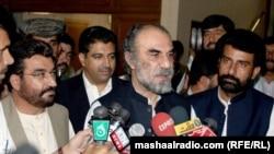د بلوچستان صوبې وزیراعلی نواب اسلم رییساني