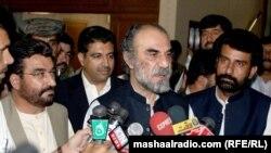 د بلوچستان وزیراعلی نواب اسلم خان ریسانی