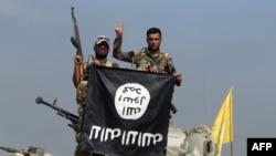 """""""Ислам мамлекети"""" террористтик тобунун жоокерлери"""