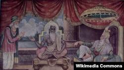 Санджая пересказывает царю прочитанное в интернете