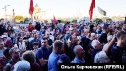 Стихийная акция во Владивостоке, архивное фото