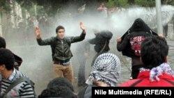محيط وزارة الدفاع في القاهرة الخميس 12 كانون2013