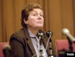 Svetlana Alliluyeva, la o conferinţă de presă, 2 februarie 1984