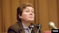 Сталиннің қызы - Светлана Аллилуева. 2 ақпан, 1984 жыл.