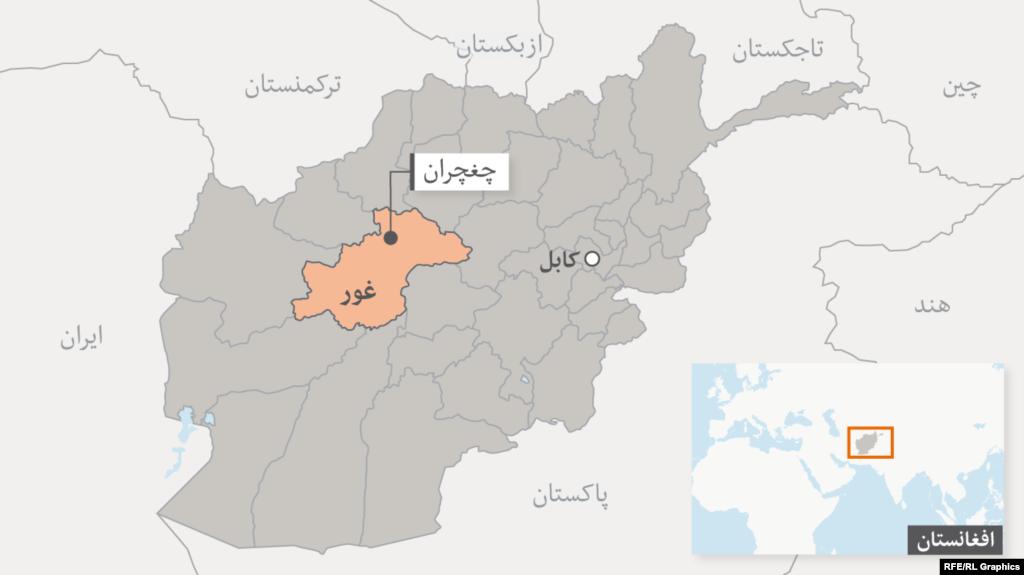 حبیبی: در اثر درگیری دو قوماندان در غور ۵ تن کشته شدهاند