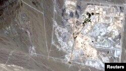 Сателитска снимка на нуклеарната псотројка Нантз
