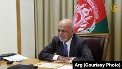 جمهوررئیس غني په اسپین امنیتي مجمع ناسته کې د بېلابېلو مسایلو په اړه د افغانستان لیدلوری بیان کړ