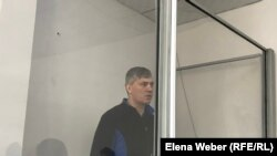 Бывший аким города Сарань Анатолий Шкарупа в зале суда. Караганда, 8 января 2019 года.