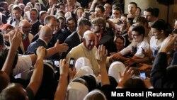 Papa Franjo u Katedrali Srca Isusova u Sarajevu
