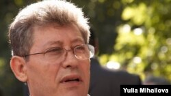 Mihai Ghimpu, the new speaker of Moldova's parliament