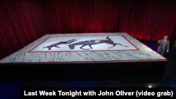 """Jon Oliwer bilen """"Geçen hepde bu agşam"""" atly gepleşikden bir pursat."""