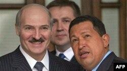 Аляксандар Лукашэнка і Ўга Чавэс