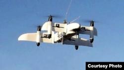 عکسی از یک پهپاد عمودپرواز که ایران میگوید ساخت داخل است و «کوکر ۱» نام دارد.