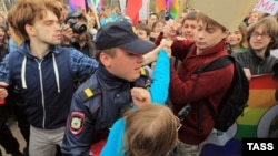 Gay rights activists face persecution in Russia.