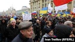 Марш мира в Москве, 15 марта, 2014.